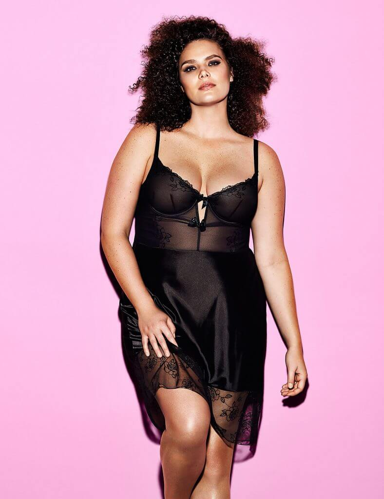 Lane Bryant Embellished Rose Underwire Slip by Sophie Theallet - $78.50
