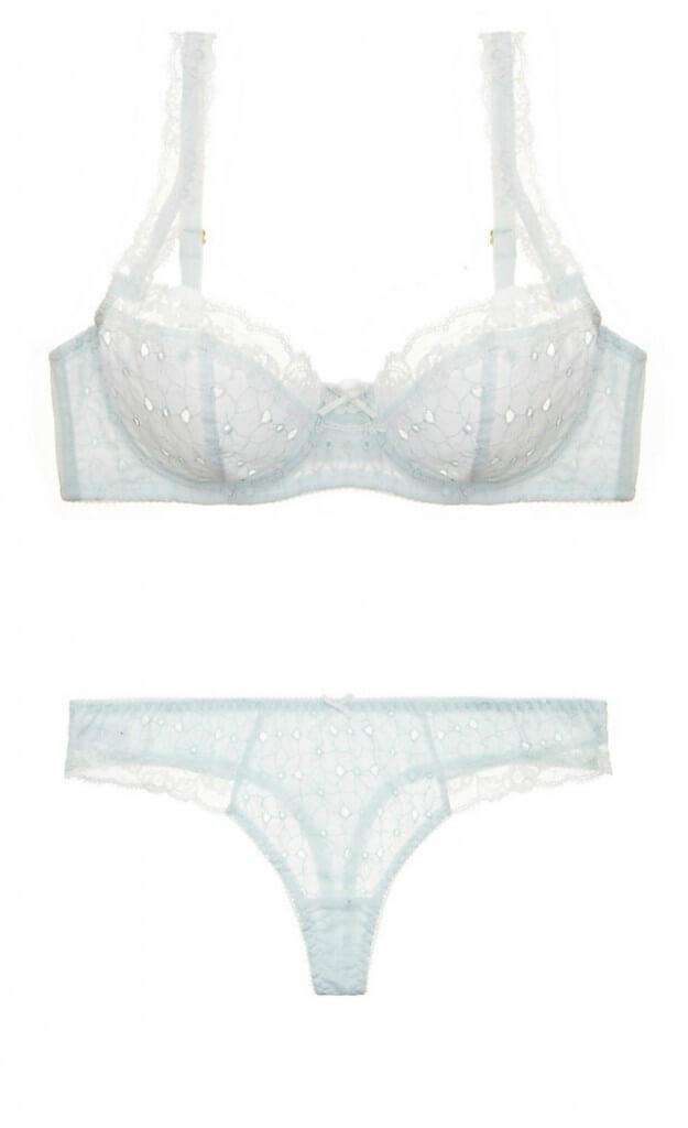 Lilipiache Cotton Love Underwire Bra + Thong