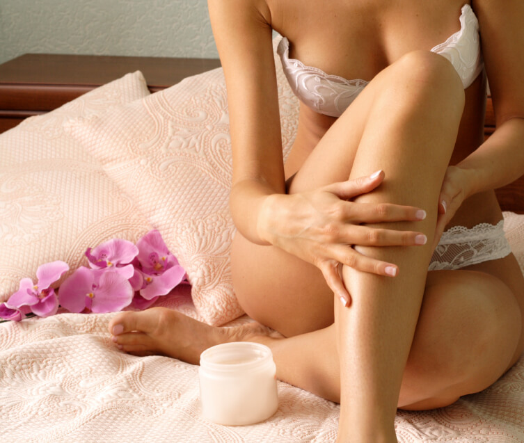lingerie spa body care copy