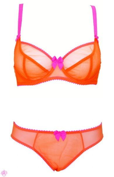 Ask the Addict  Orange Lingerie   10da11189