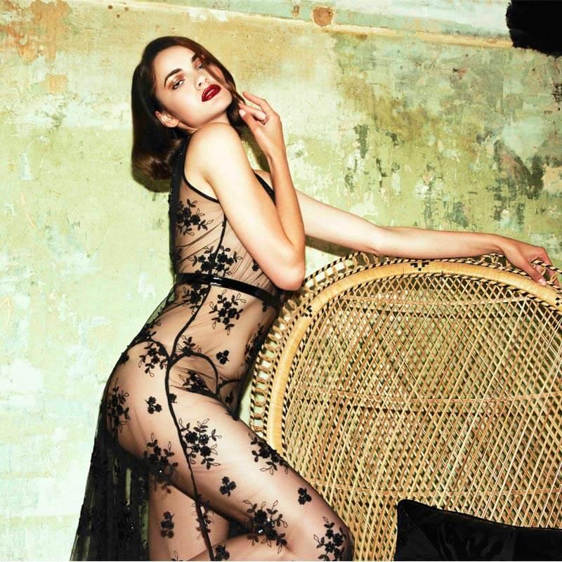 Loveday London Oncilla Boudoir Gown