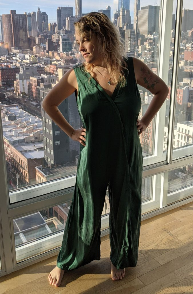 Lunya Washable Silk Jumpsuit Review