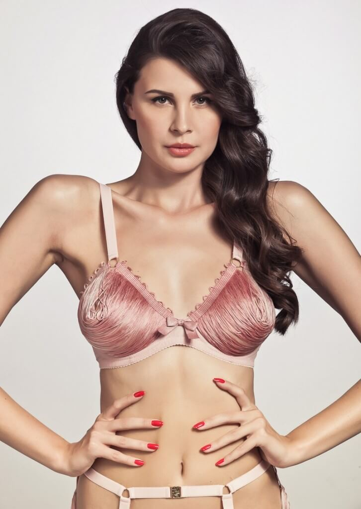 Made by Niki Cotton Candy String Open Bra (was $167, now $117)