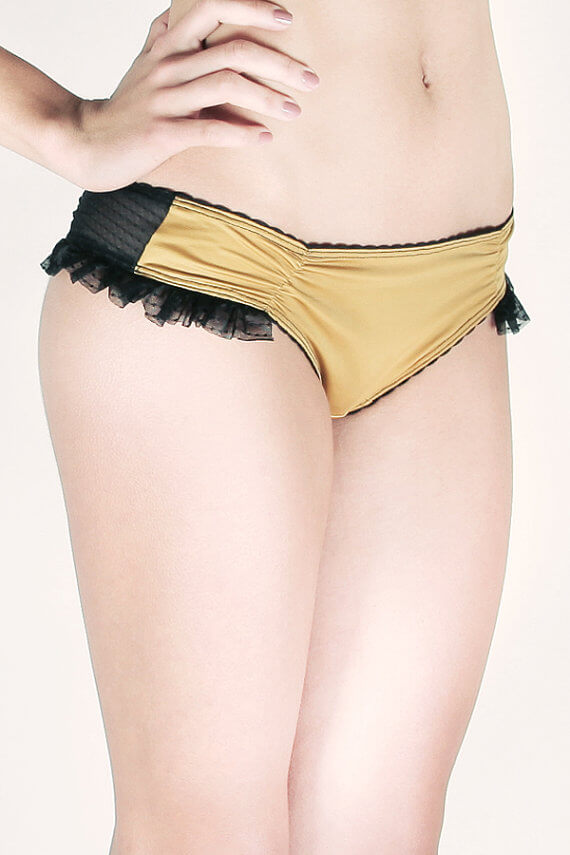 "Ruffled Panties ""Selva Santa"" by Majo Rey"
