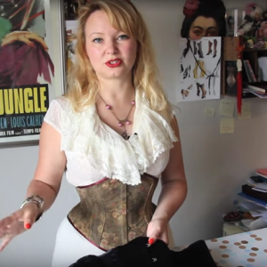 How to Clean a Corset