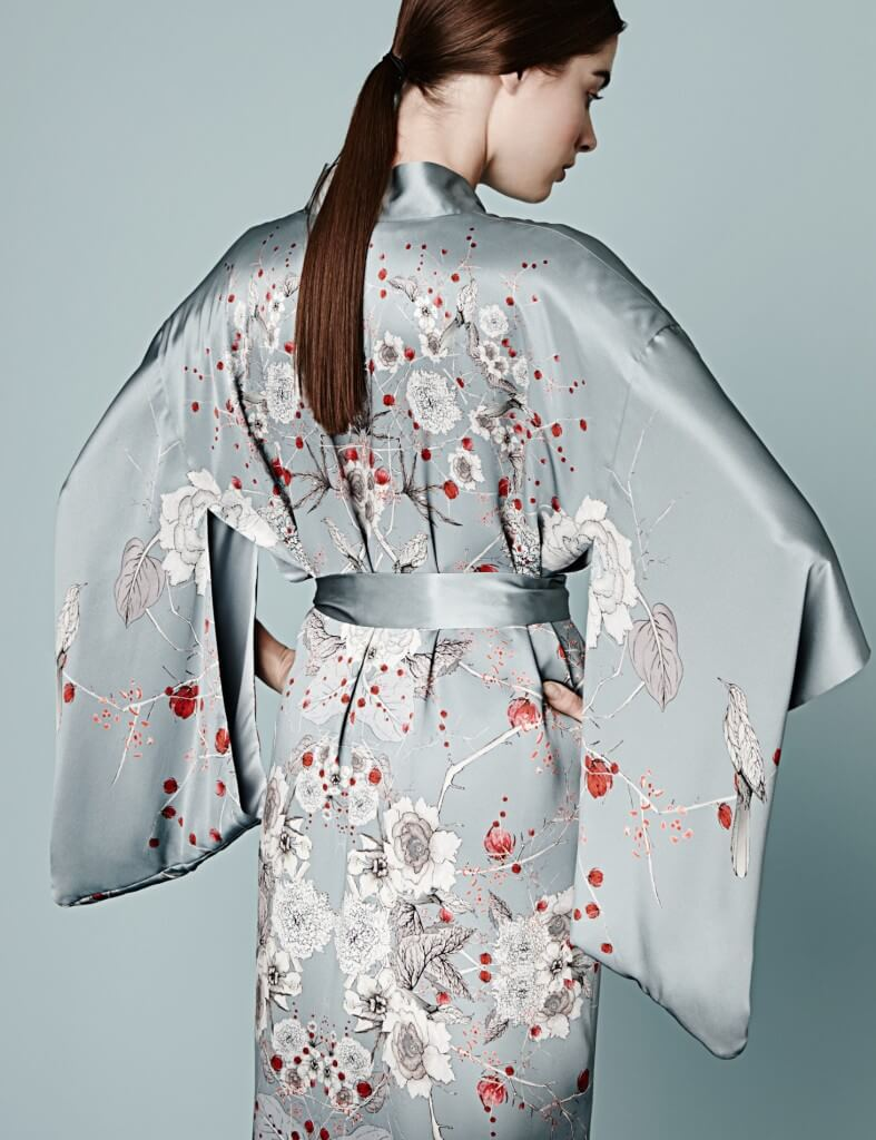£989.00 $1546.95 USD http://fulldisclosureluxe.com/collections/meng/products/cherry-blossom-silk-full-length-kimono