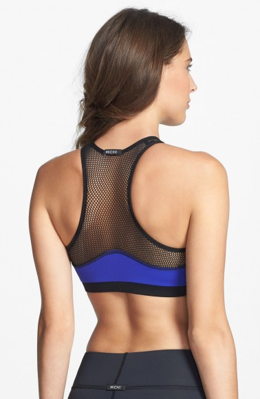 michi sports bra back