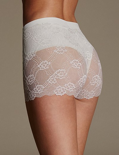 Marks & Spencer Firm Control Lace Shorts