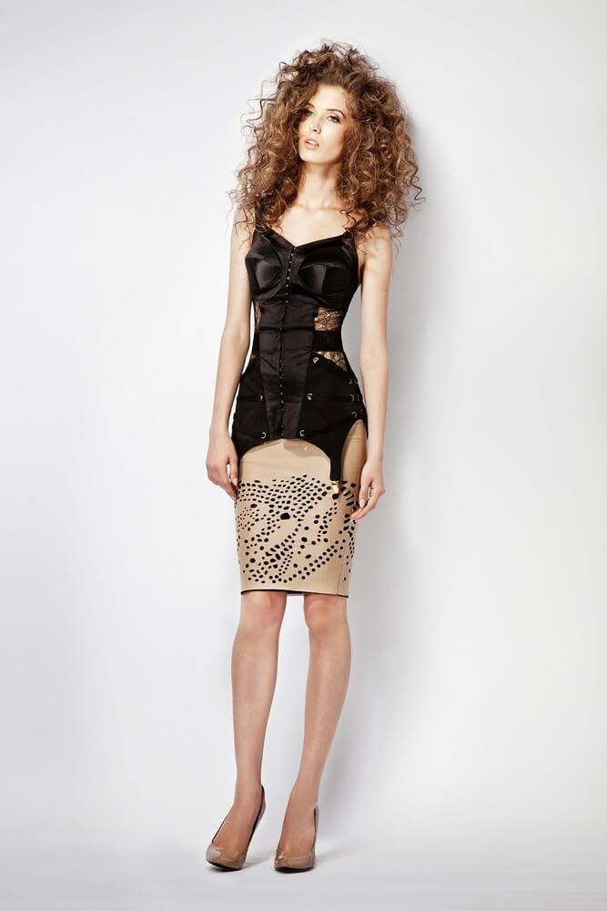 murmur-fashion-Zest_Corset-Honeycomb_Skirt