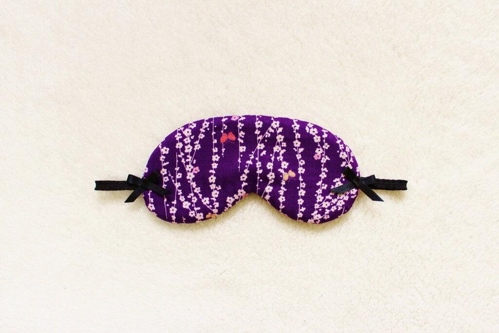 Naomi Lingerie Kimono Print Eye Mask
