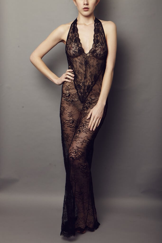 nightprowl london jet lace dress
