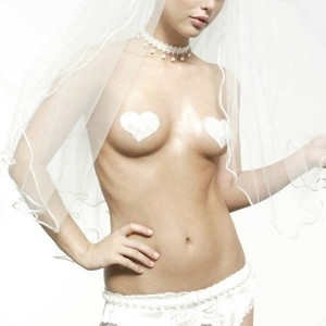 Ask the Addict: Where Can I Find White, Bridal Nipple Pasties for my Wedding?