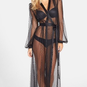 Lingerie of the Week: Dita Von Teese 'The Lamarr' Sheer Dot Robe