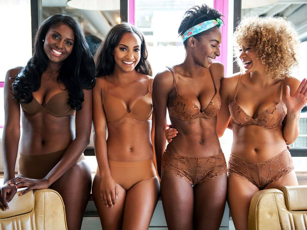 Nubian Skin. Lingerie Trends - Nude Lingerie for All, WOC.
