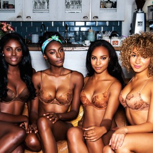 Introducing Nubian Skin: Nude Lingerie and Hosiery for Women of Color