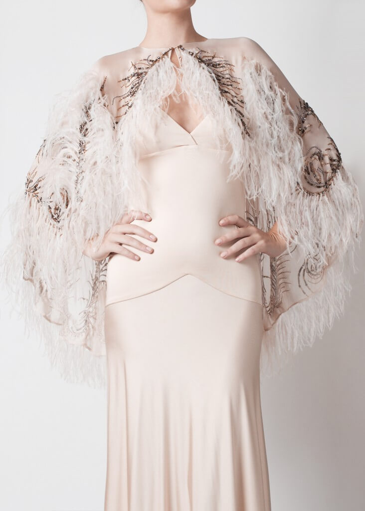 oh yes celeste stellar plumes capelet
