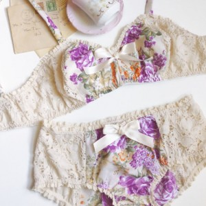 Lingerie of the Week: Ohhh Lulu 'Slumber Party' Bra Set