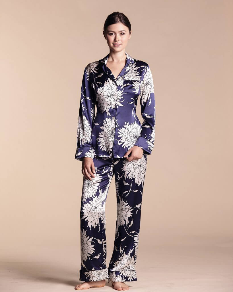 Olivia Von Halle Lila Grace Pajamas - $509.00