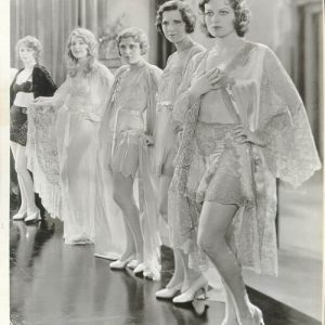 Pre-Code Hollywood Lingerie: Underpinnings from 1929-1934