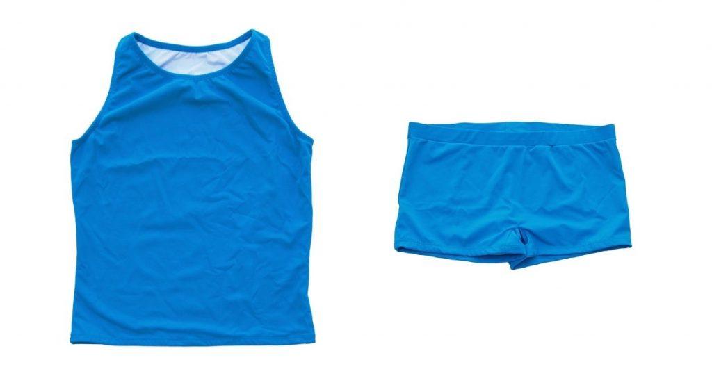 Outplay Flatsea top and Todasana shorts