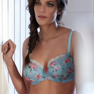 Spring Trends: 10 Blue Bras for Full Bust and Plus Size Women