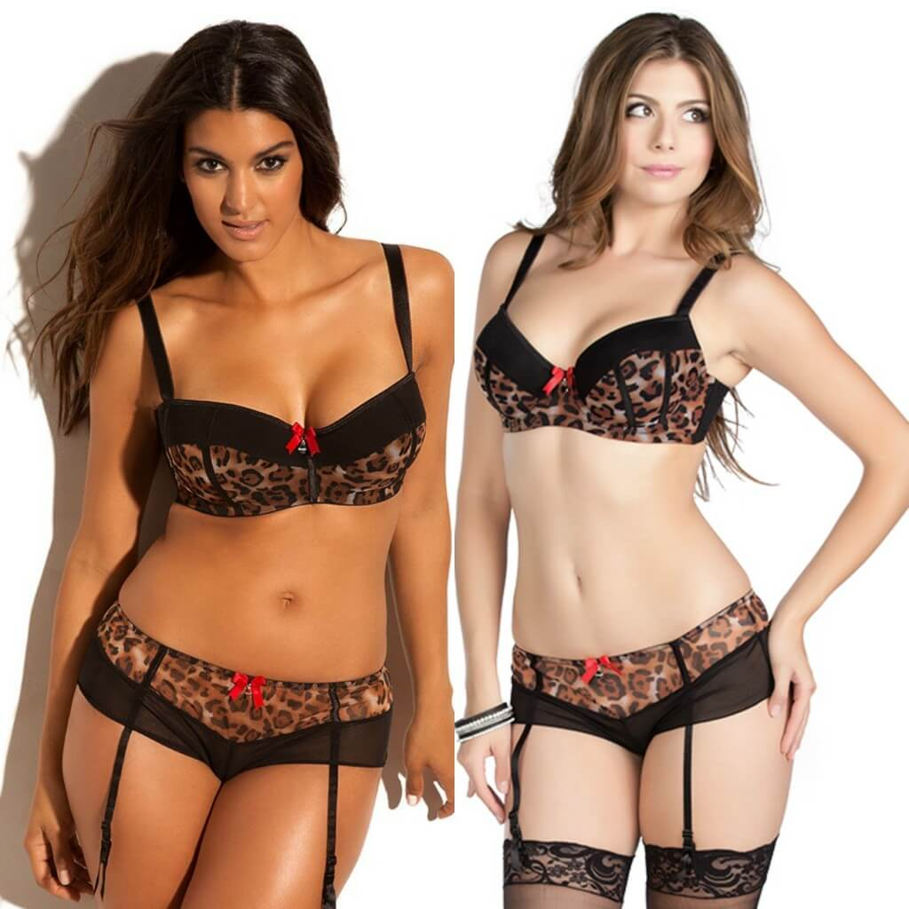 Adore Me 'Nalani' Bra Set on Left. Parfait by Affinitas Leslie Bra Set on Right.