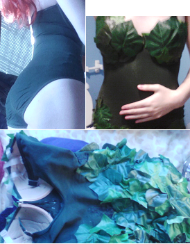 Phone pictures from creating the costume