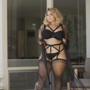 Plus Size Perfection: Introducing GabiFresh for Playful Promises Lingerie