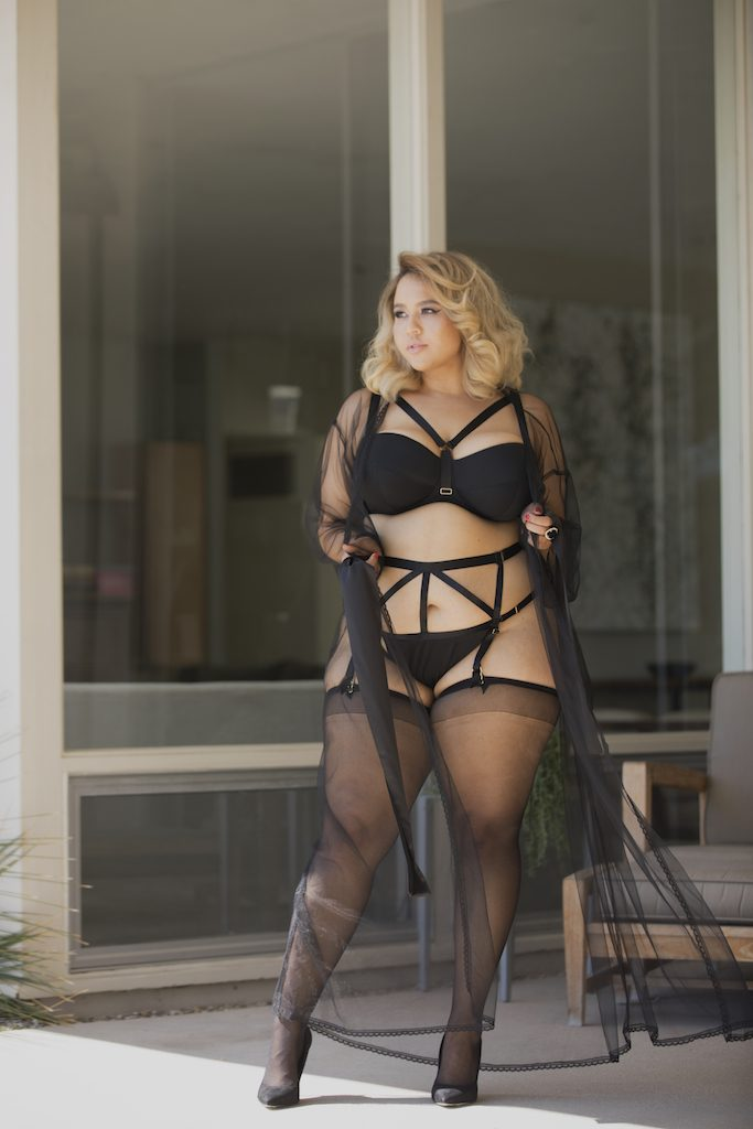 GabiFresh for Playful Promises Plus Size Lingerie Collection