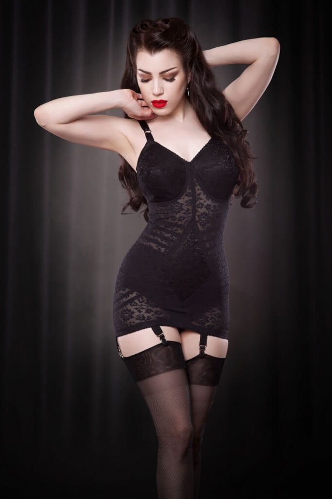 bc64334bd55 Rago Style 9357 Body Briefer (Corselette) via Hepburn   Leigh
