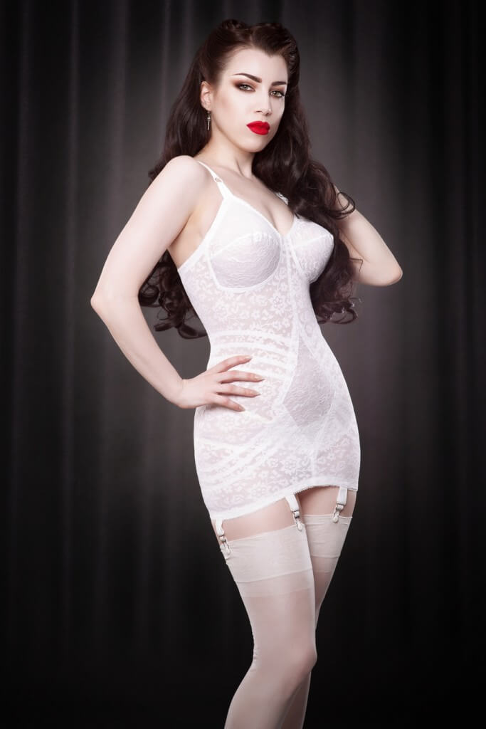 4a068a950ff4 Rago Style 9357 Body Briefer (Corselette) via Hepburn & Leigh