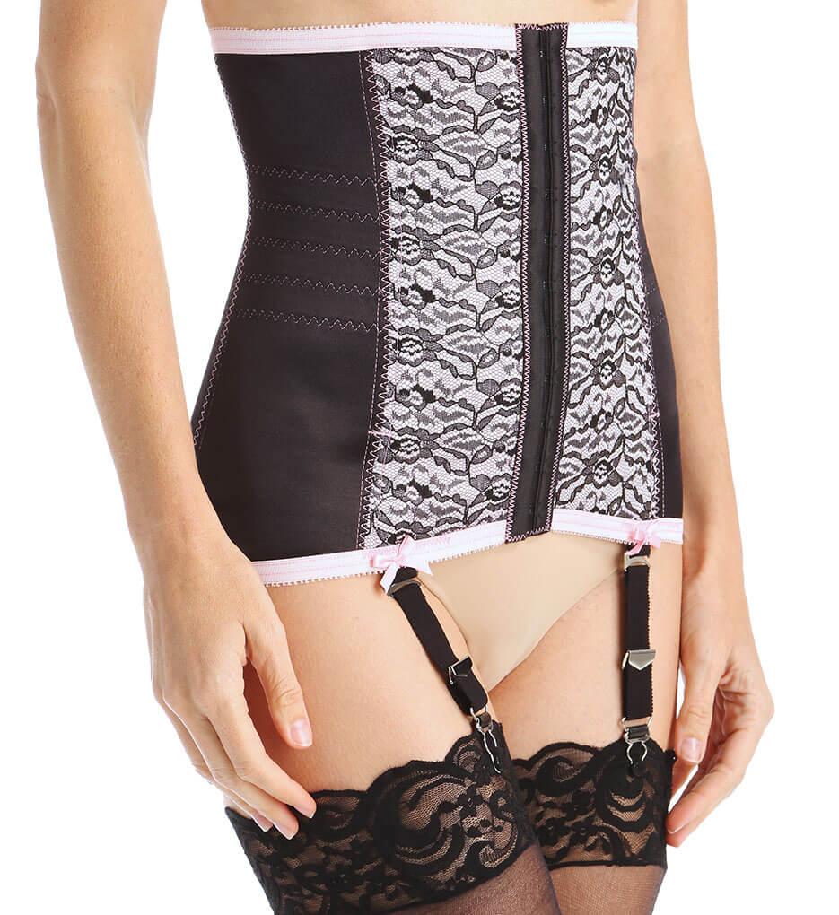 e30503383 Review  Rago Pink   Black Waist Cincher Style  721