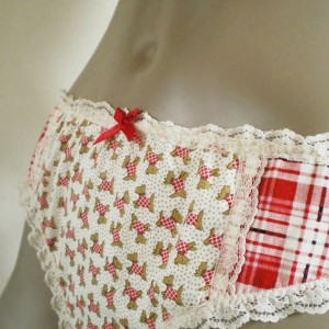 5 Made To Order Holiday Panties from Independent Designers