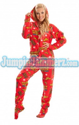 Wonder Woman Footed Pajamas $64.99