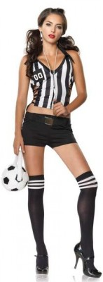 Sexy referee costume $45.99