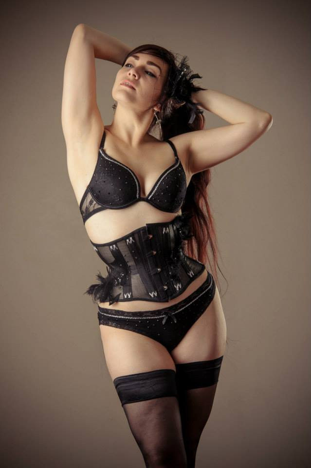 Photo © Paul Mockford | Model: Victoria Dagger | Corset by Sara's Stitchery