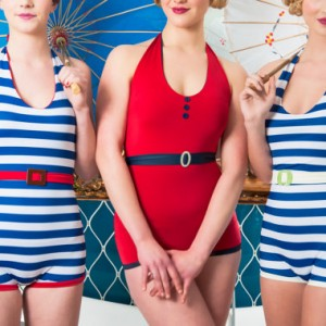 That Flapper Style: 1920s-Inspired Swimsuits from Sarina Poppy