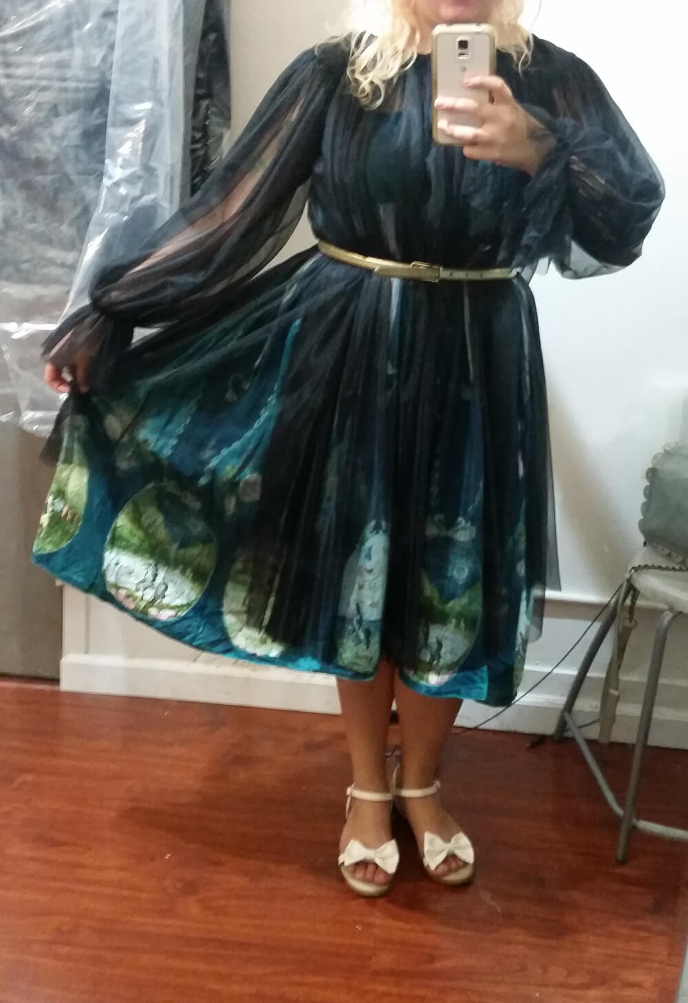 she and reverie Spellbound Gown sample