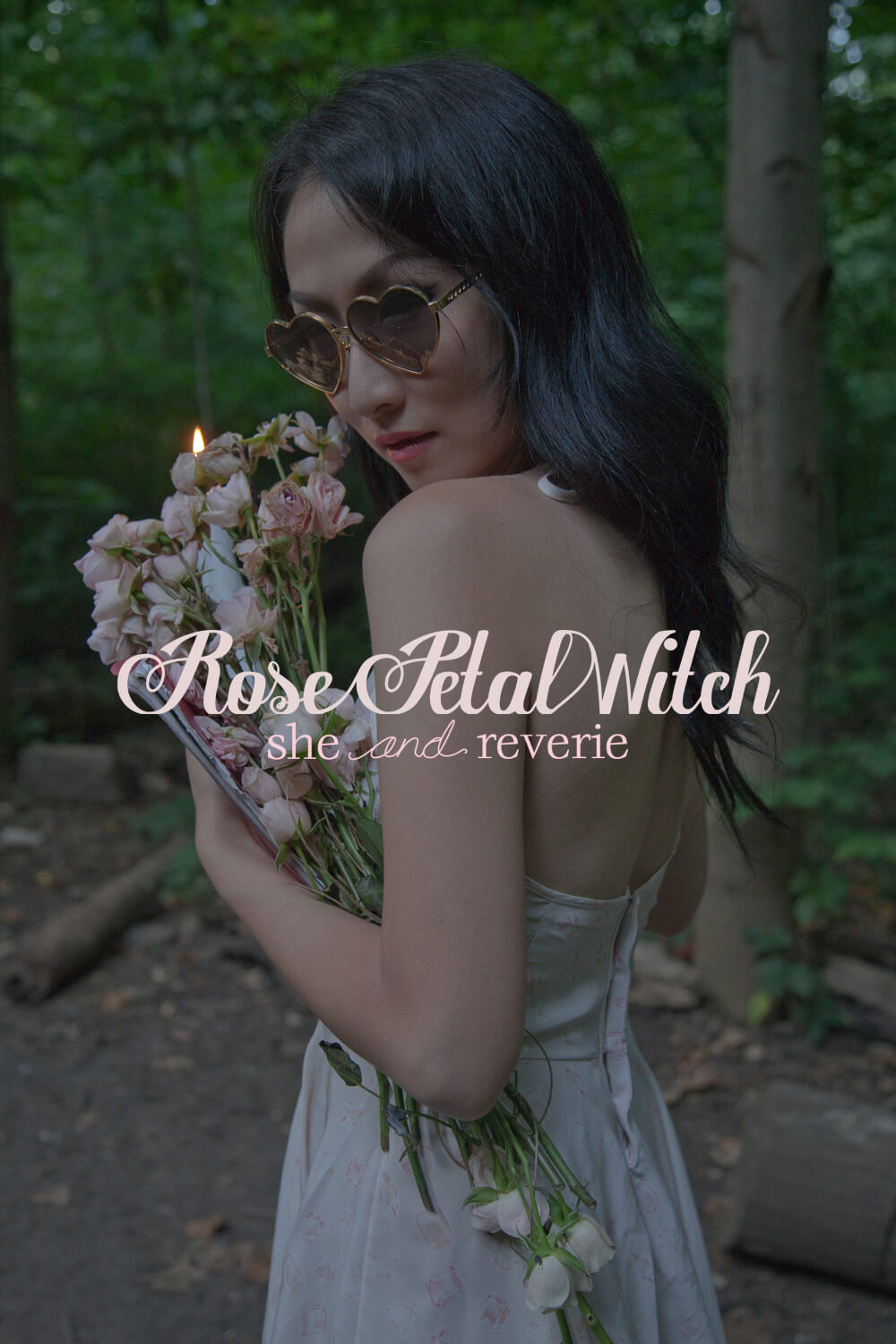 The final Rose Petal Witch cover graphic