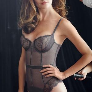 Sale Lingerie of the Week: Simone Perele Velvet Bodysuit