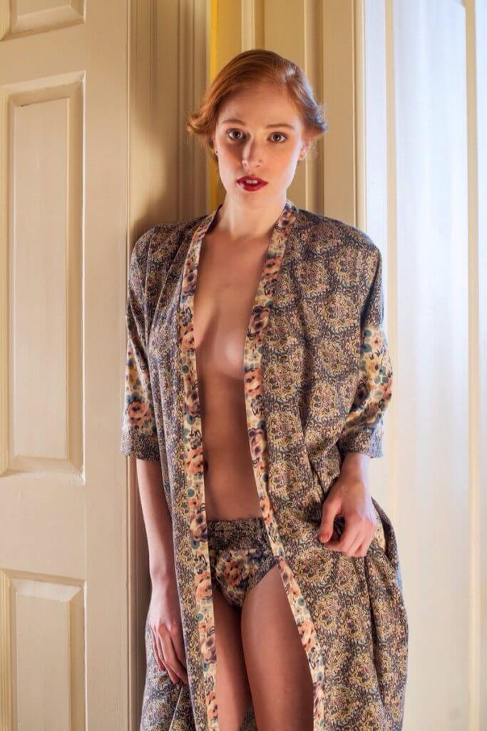Smith and Downes Liberty Floral Robe