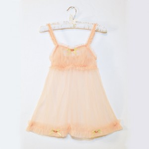 Lingerie of the Week: Sugar Lace Lingerie Peach Ruffle Babydoll