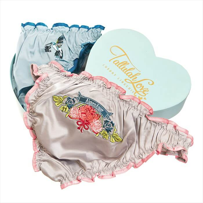 Tallulah Love Hummingbird Knickers Gift Set - £42.50/$66.77 USD