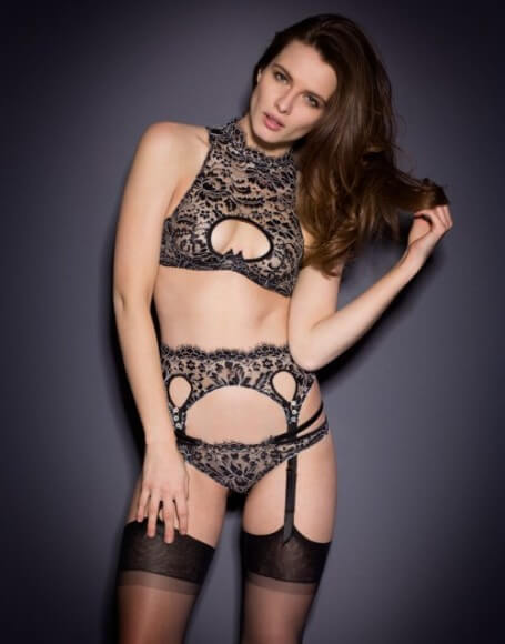 The 'Tamila' set by Agent Provocateur is part of the exhibition.