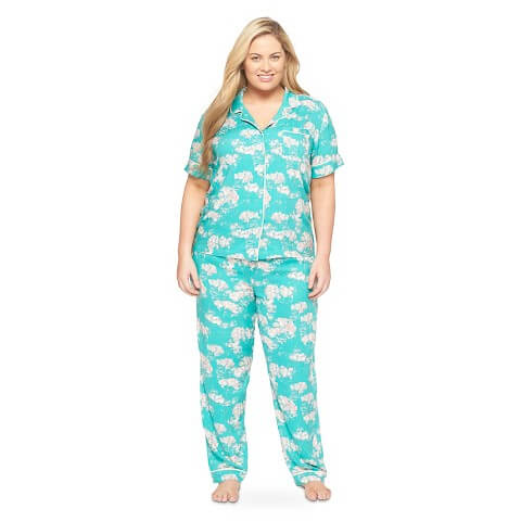 Gilligan & O'Malley High Tide Pajama Set - Available up size 3X