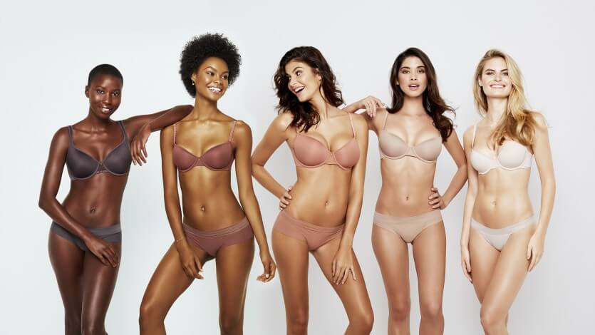 ThirdLove. Lingerie Trends - Nude Lingerie for All, WOC. Lingerie for every skintone.