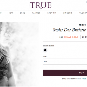 True & Co. Sells an $18 Bra Set for $46: Can a Markup Be Too High?