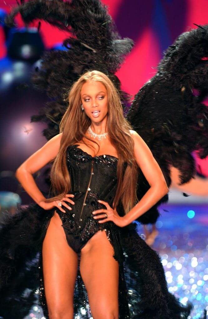 Tyra Banks' last Victoria's Secret Fashion Show, November 2005