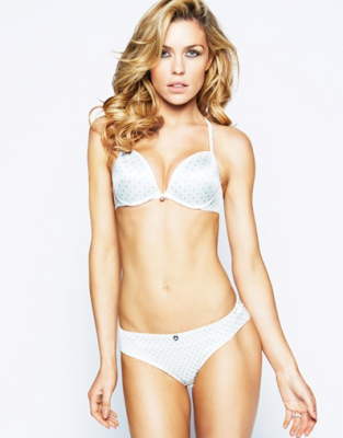 The One Spot Bra 16.80 GBP featuring Luisana Lopilato