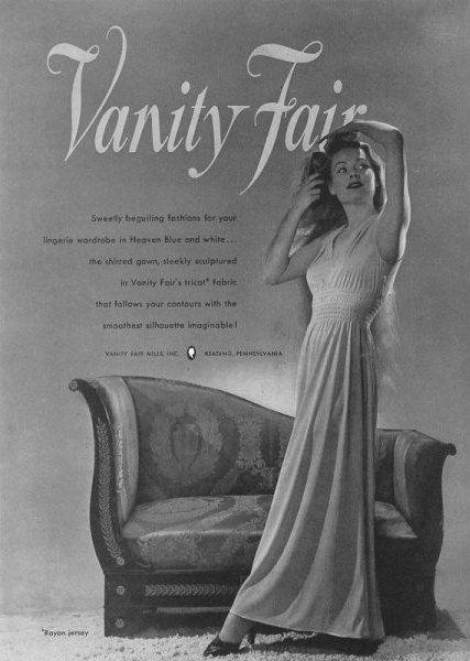 vanity fair 1940s lingerie